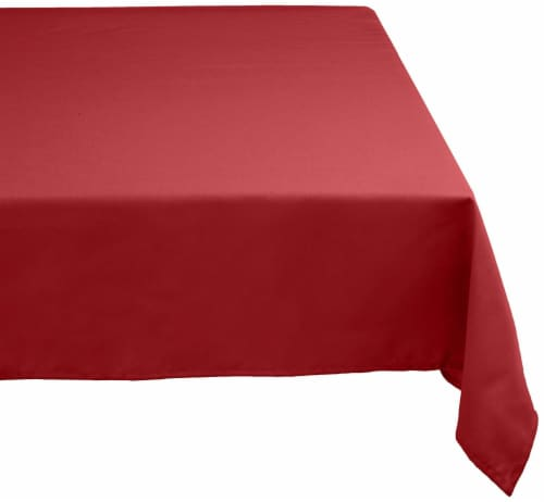 DII Wine Polyester Tablecloth Perspective: front