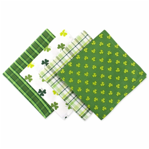 DII St Patricks Day Napkin (Set of 4) Perspective: front