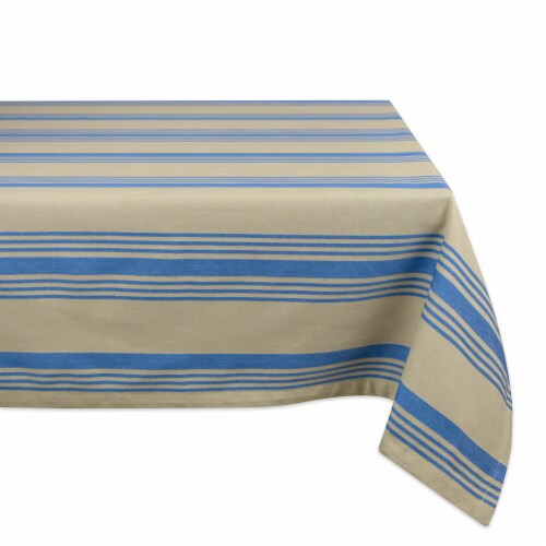 DII Tablecloth Sailor Stripe Perspective: front