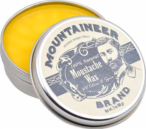 Mountaineer Brand  Moustache Wax WV Citrus & Spice Perspective: front