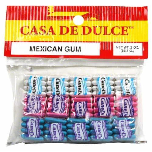 Casa de Dulce Mexican Gum Perspective: front