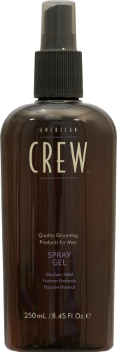 American Crew Medium Hold Spray Gel Perspective: front