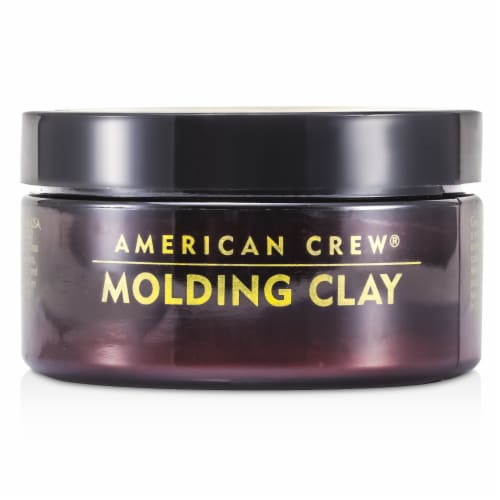 Molding Clay by American Crew for Men - 3 oz Clay Perspective: front