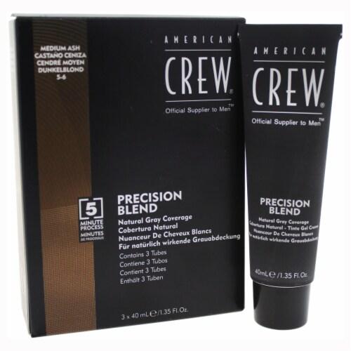 American Crew Precision Blend Hair Color Kit  # 56 Medium Ash 3 x 1.35 oz Perspective: front