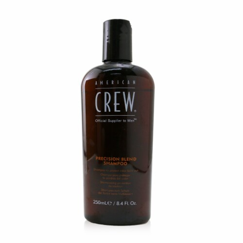 American Crew Men Precision Blend Shampoo (Cleans the Scalp and Controls Color FadeOut) 250ml Perspective: front