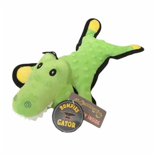 Steel Dog 54351 Gator with Tennis Ball & Rope Perspective: front