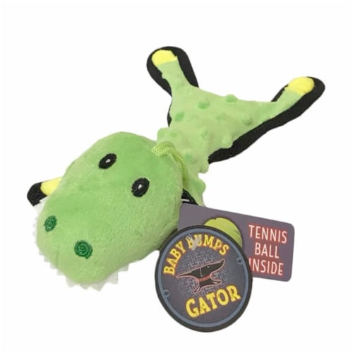 Steel Dog 54355 Baby Gator with Tennis Ball & Rope Perspective: front