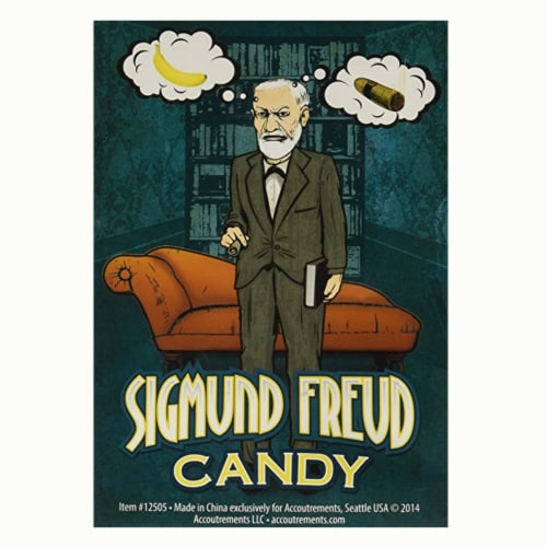 Sigmund Freud Banana Flavored Candy Perspective: front