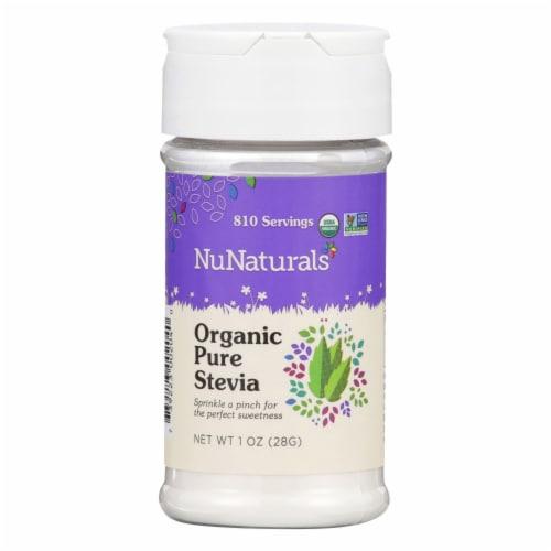 NuNaturals NuStevia Organic Pure Stevia Extract Perspective: front