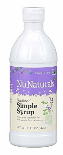 NuNaturals  NuStevia® Syrup   Simple Perspective: front