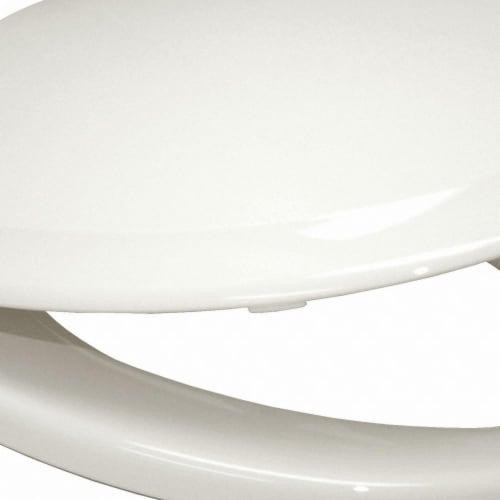 Toto Toilet Seat,Elongated Bowl,Closed Front Perspective: front