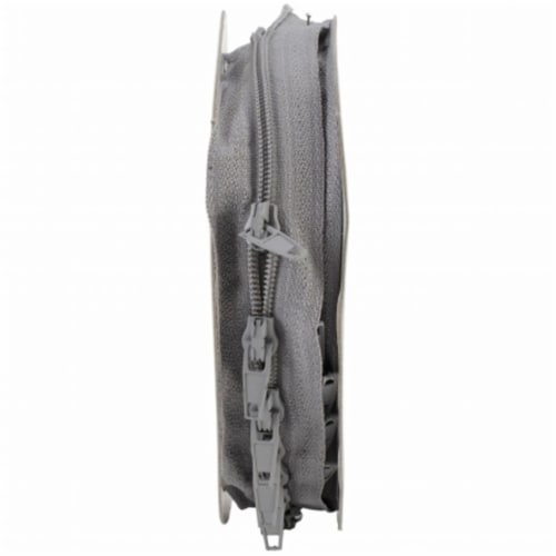 Sullivans Make-A-Zipper Kit 5.5yd-Gray Perspective: front