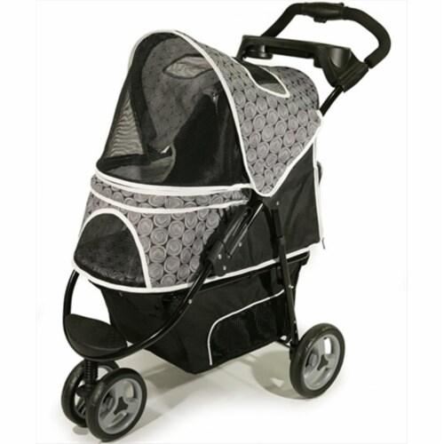 Promenade Pet Stroller  Black Onyx Perspective: front