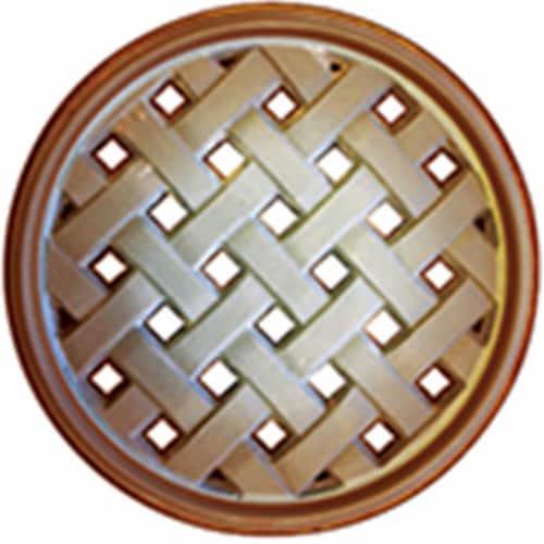 33351 Basket Weave Trivet, Mocha Sand Perspective: front