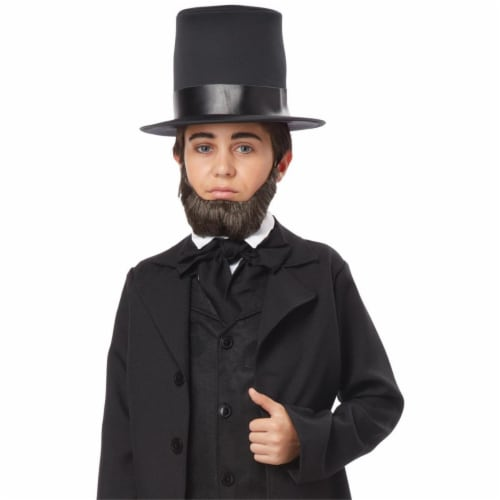 Childs Honest Abe Beard - One Size Perspective: front