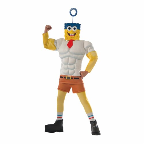 Spongebob Child Costume - Small - Size 4-6 Perspective: front