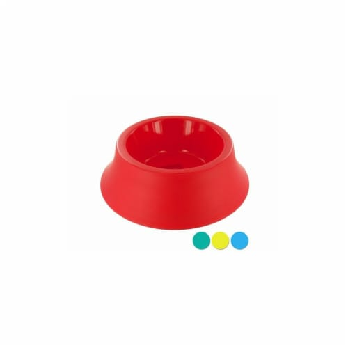 Medium Size Round Plastic Pet Bowl, 36 Piece -Pack of 36 Perspective: front