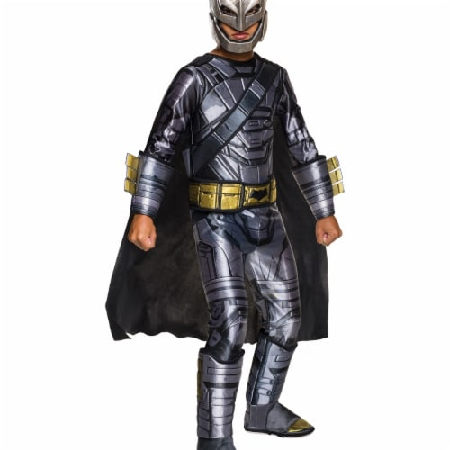 Doj Batman Armored Child Costume, Small Perspective: front