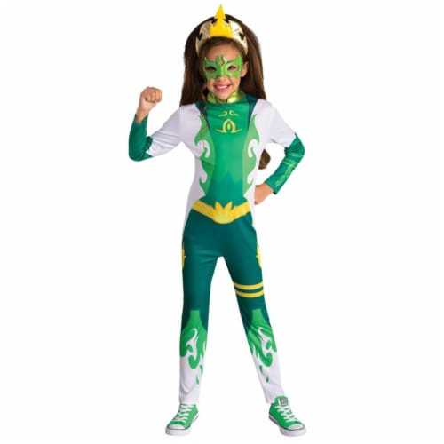 Childs Mysticons Emerald Costume - Medium Perspective: front