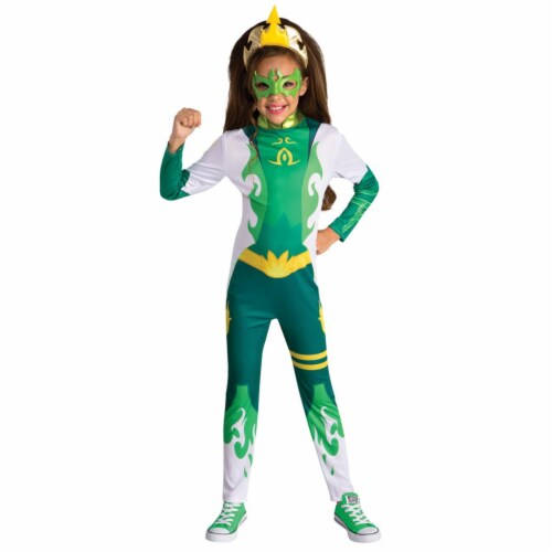Childs Mysticons Emerald Costume - Small Perspective: front