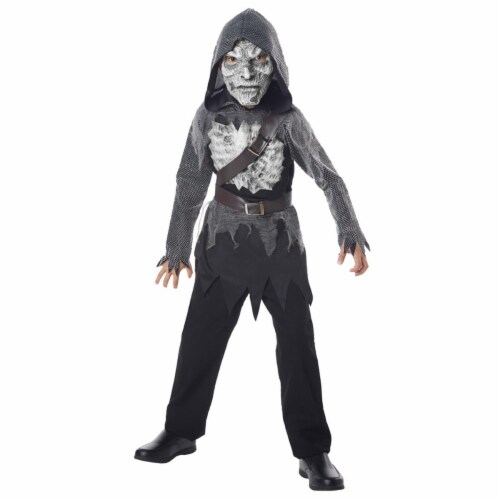 Undead Walker Child Costume - Medium, Size 8-10 Perspective: front