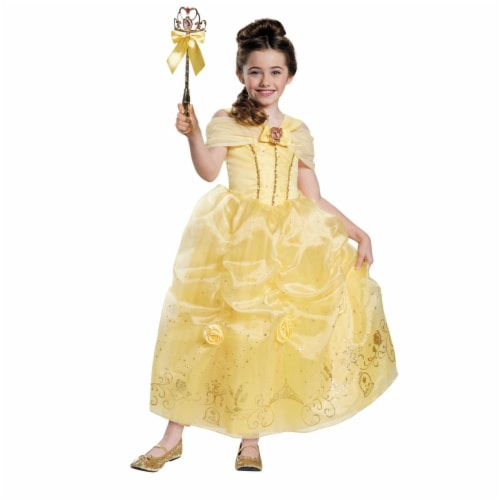 Belle Prestige Toddler Costume, Size 3 - 4 Tall Perspective: front