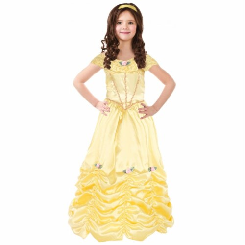 Beauty Classic Child Costume, Medium - Size 8-10 Perspective: front
