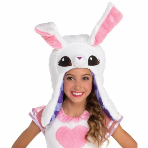 Child Animal Jam Enchanted Magic Bunny Hoodie, One Size Perspective: front