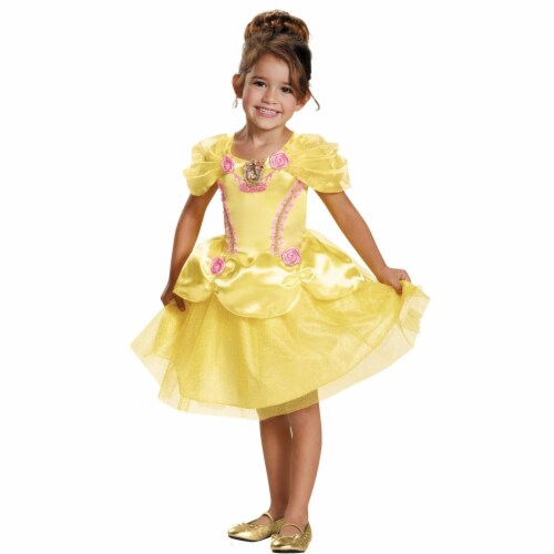 Belle Toddler Classic Costume, Size 4-6 Perspective: front