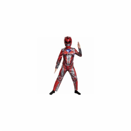 2017 Red Ranger Classic Child Costume - 7-8 Perspective: front