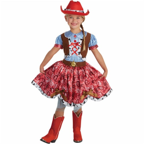 Childs Buckaroo Beauty Costume - Small Perspective: front
