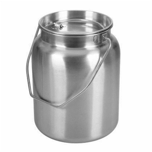 2 gal Stainless Steel Jug Perspective: front