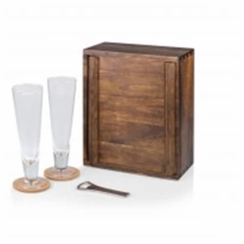 Pilsner- Beer Gift Set - Acacia Perspective: front