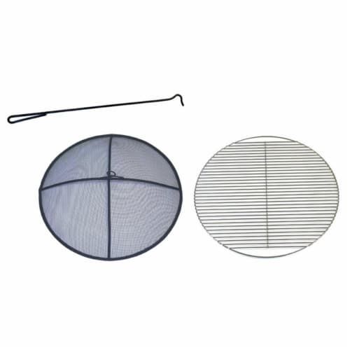 Fire Pit Accessories Kit Perspective: front