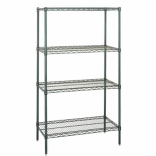 Wire 4 Shelf Starter Kit Proform - 86 in. Perspective: front