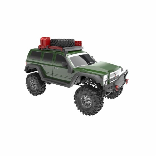 Everest Gen PRO Scale Truck, Green Perspective: front