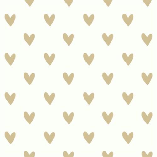 Heart Spot Peel & Stick Wallpaper Perspective: front
