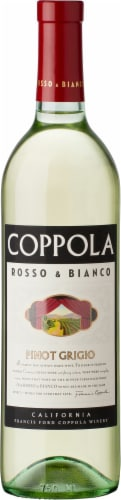 Francis Coppola Rosso & Bianco Pinot Grigio Perspective: front