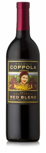 Francis Coppola Mammarella Red Blend Wine Perspective: front