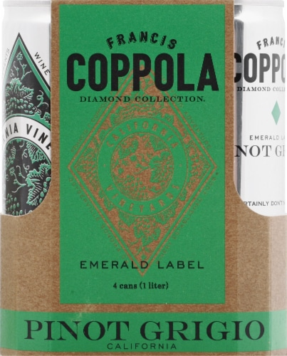 Francis Coppola Diamond Collection Pinot Grigio Perspective: front