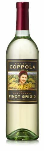 Francis Coppola Mammarella Pinot Grigio Perspective: front