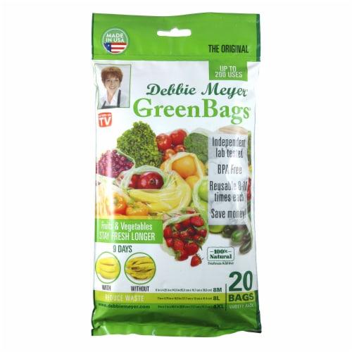 Debbie Meyer Green Bags Perspective: front