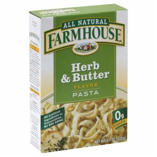 Farmhouse Herb & Butter Flavor Pasta Perspective: front