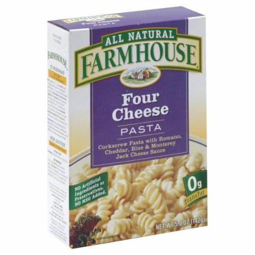 Farmhouse Four Cheese Pasta Perspective: front