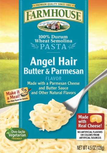 Farmhouse Butter & Parmesan Flavor Angel Hair Pasta Perspective: front
