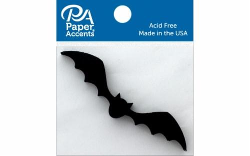Chip Shape 8pc Flying Bat Black Perspective: front
