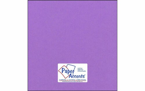 Cdstk Smooth 12x12 65lb 25pc Pk Grape Soda Perspective: front