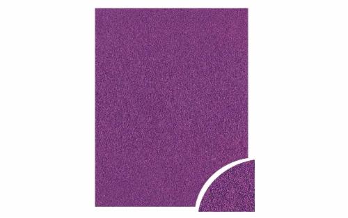 Cdstk Glitter 22x28 85lb 10pc Pk Grape Jam UPC Perspective: front