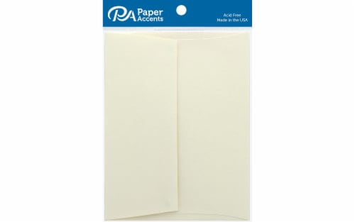 Envelope Hvywght 4.38x5.75 80lb 25pc Porcelain Perspective: front