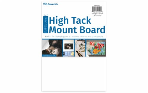 """PA Ess Self-Stick High Tack Mount Board 5x7"""" Perspective: front"""